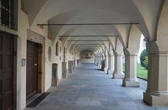 Canonica Del Duomo di Novara, Włochy obraz royalty free