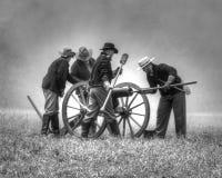 canonniers photo libre de droits