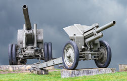 Canons Stock Photography