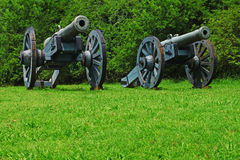 Canons Stock Photo