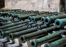 Canons on Display Royalty Free Stock Image
