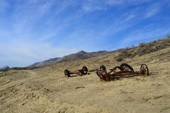 Canons on the Field Royalty Free Stock Photography