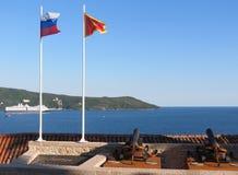 Canons at fortress in Herceg Novi, Montenegro Stock Photo