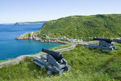 Canons of Signal Hill Royalty Free Stock Photo