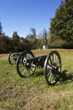 Canons in Vicksburg Military Park Royalty Free Stock Images