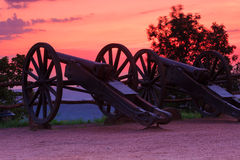 Canons at Wartburg Castle Stock Photography