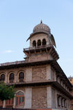 Canopies on Albert hall jaipur Stock Photo