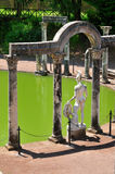 canopo hadrian Italy Rome tivoli willa Zdjęcia Royalty Free
