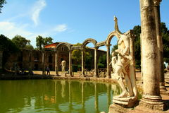 Canopo - Villa Adriana Royalty Free Stock Photography