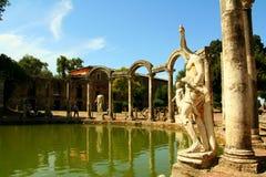 Canopo - Villa Adriana. Near Rome and Tivoli Royalty Free Stock Photography