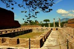 Canopo - Villa Adriana. Near Rome and Tivoli Royalty Free Stock Photo