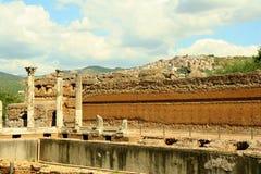 Canopo - Villa Adriana. Near Rome and Tivoli Stock Photography