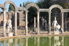 Canopus in Hadrian Villa Stock Photo
