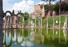 Canopus in villa del Hadrian Immagine Stock Libera da Diritti