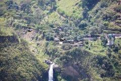 Canopy activities in Banos, Ecuador Royalty Free Stock Photography