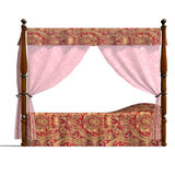 Canopy bed of louis XV. Stock Photo
