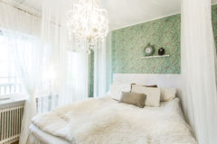 Canopy Bed Royalty Free Stock Photography