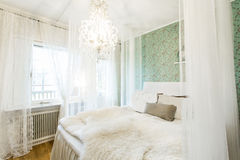 Canopy Bed Stock Photography