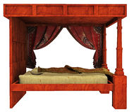 Canopy bed Stock Photos