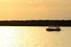 Canopy Boat Stock Photography