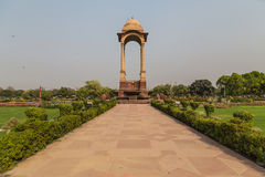 Canopy near the India Gate, Delhi Royalty Free Stock Images