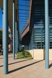 Canopy på modern byggnad Arkivfoto