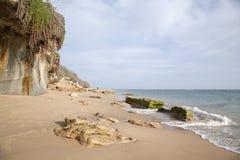 Canos de Meca Beach, Cadiz, Andalusia Royalty Free Stock Photography