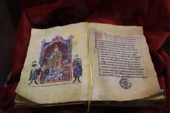Canossa, Itália, Matilde do museu de Canossa, lugar turístico em Reggio Emilia imagens de stock royalty free