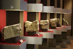 Canossa, Italie, Matilde du musée de Canossa, endroit touristique en Reggio Emilia Photo stock