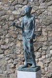 Canossa, Italie, Matilde du musée de Canossa, endroit touristique en Reggio Emilia Images libres de droits