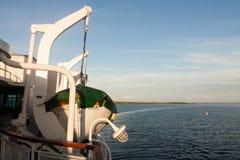 Canot de sauvetage nautique de navire Photographie stock