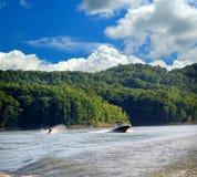 Canotage au Kentucky Images libres de droits