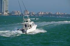 Canale navigabile Scenics della spiaggia di Mimami Immagine Stock Libera da Diritti