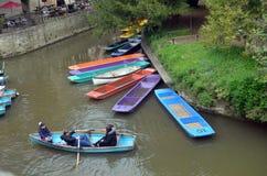 Canottaggio, Oxford, Inghilterra, Tom Wurl Fotografia Stock Libera da Diritti