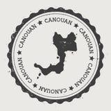 Canouan-Aufkleber Lizenzfreie Stockbilder