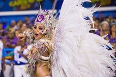 Carnival 2014 in Rio de Janeiro. Royalty Free Stock Photo