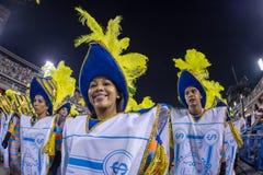 Carnival 2014 in Rio de Janeiro. Royalty Free Stock Photography