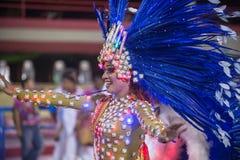 Carnival 2014 in Rio de Janeiro. Stock Image