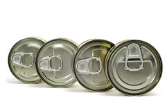 Cans Royalty Free Stock Images