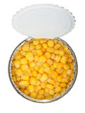 Cans of corn Stock Photos