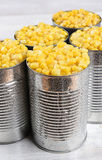 Cans of Corn Stock Images