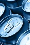 Cans with drink Royalty Free Stock Image