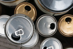 Cans Stock Image