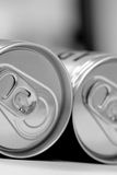 Cans filled with soda Stock Photos