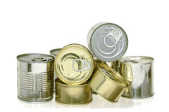Cans of food Royalty Free Stock Photography