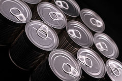 Cans Royalty Free Stock Image