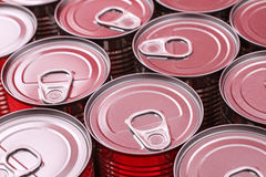 Cans Stock Photography
