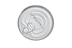 Cans lid Royalty Free Stock Image
