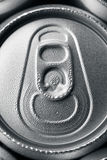 Cans of soft drink. Macro stock photo