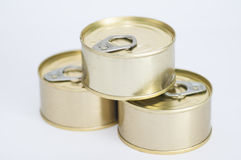 Cans Stock Photo